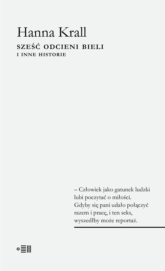Sześć odcieni bieli. I inne historie - Ebook (Książka EPUB) do pobrania w formacie EPUB