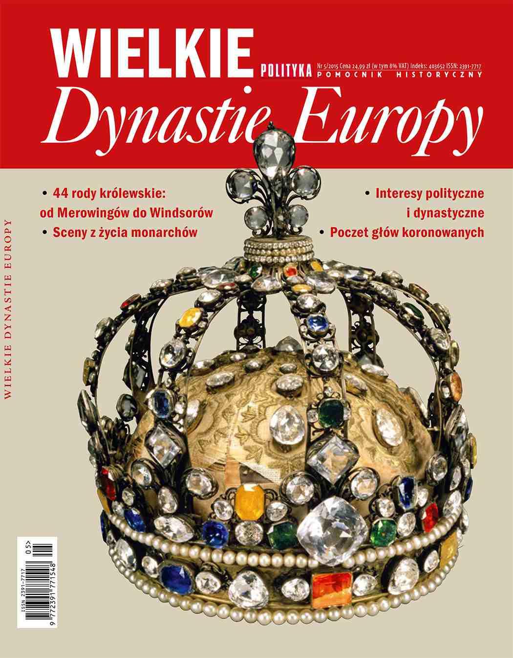 Pomocnik Historyczny: Wielkie Dynastie Europy - Ebook (Książka PDF) do pobrania w formacie PDF