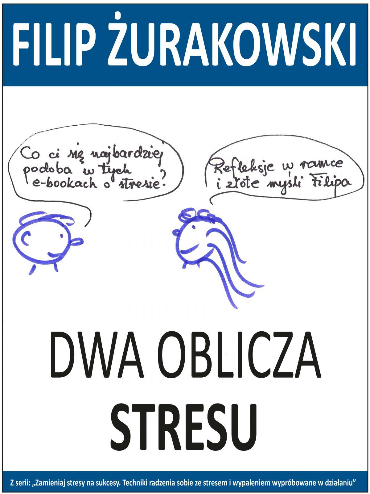 Dwa oblicza stresu - Ebook (Książka EPUB) do pobrania w formacie EPUB