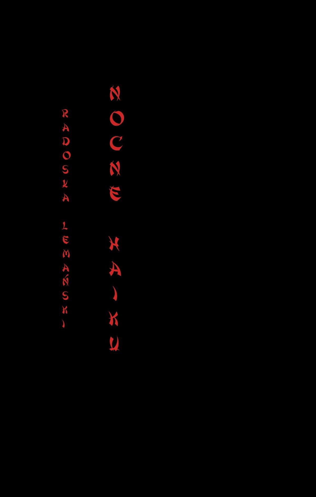 Nocne Haiku - Ebook (Książka PDF) do pobrania w formacie PDF