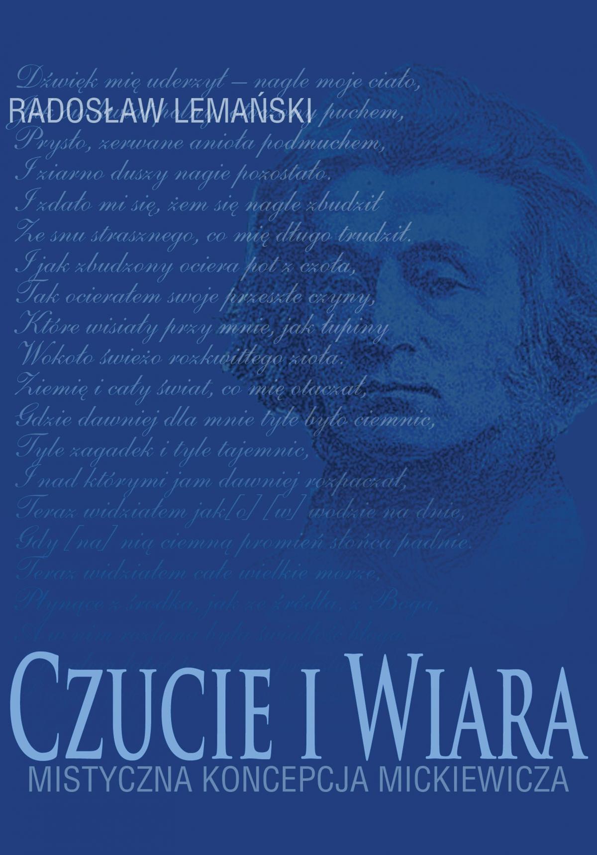 Czucie i Wiara.  Mistyczna koncepcja Mickiewicza na przykładzie liryki lozańskiej. - Ebook (Książka PDF) do pobrania w formacie PDF