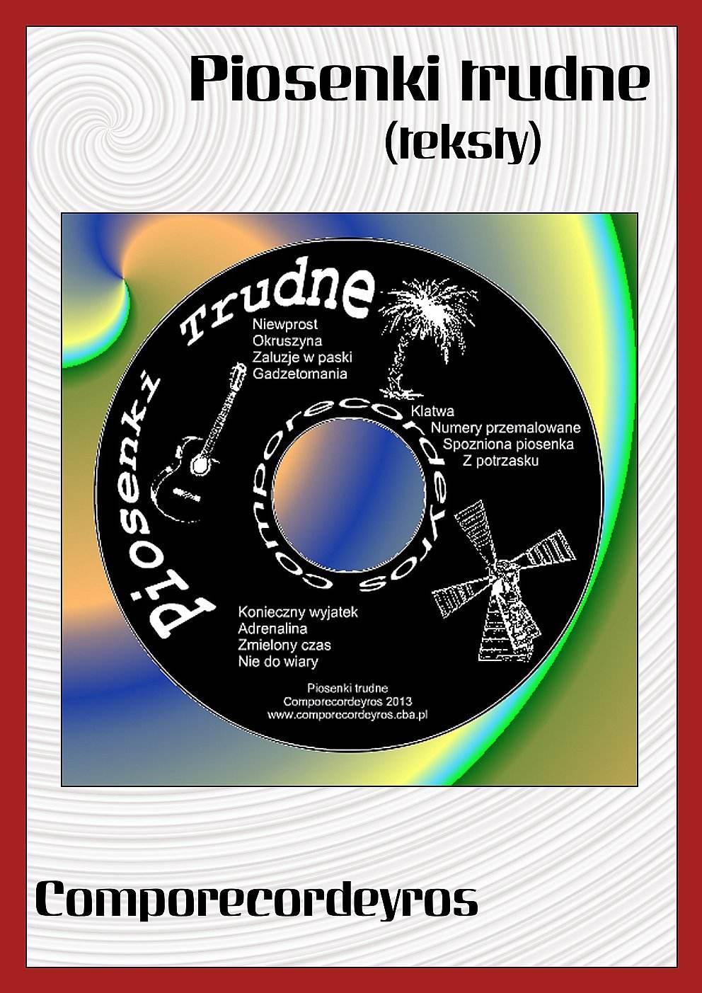Piosenki trudne (teksty) - Ebook (Książka PDF) do pobrania w formacie PDF