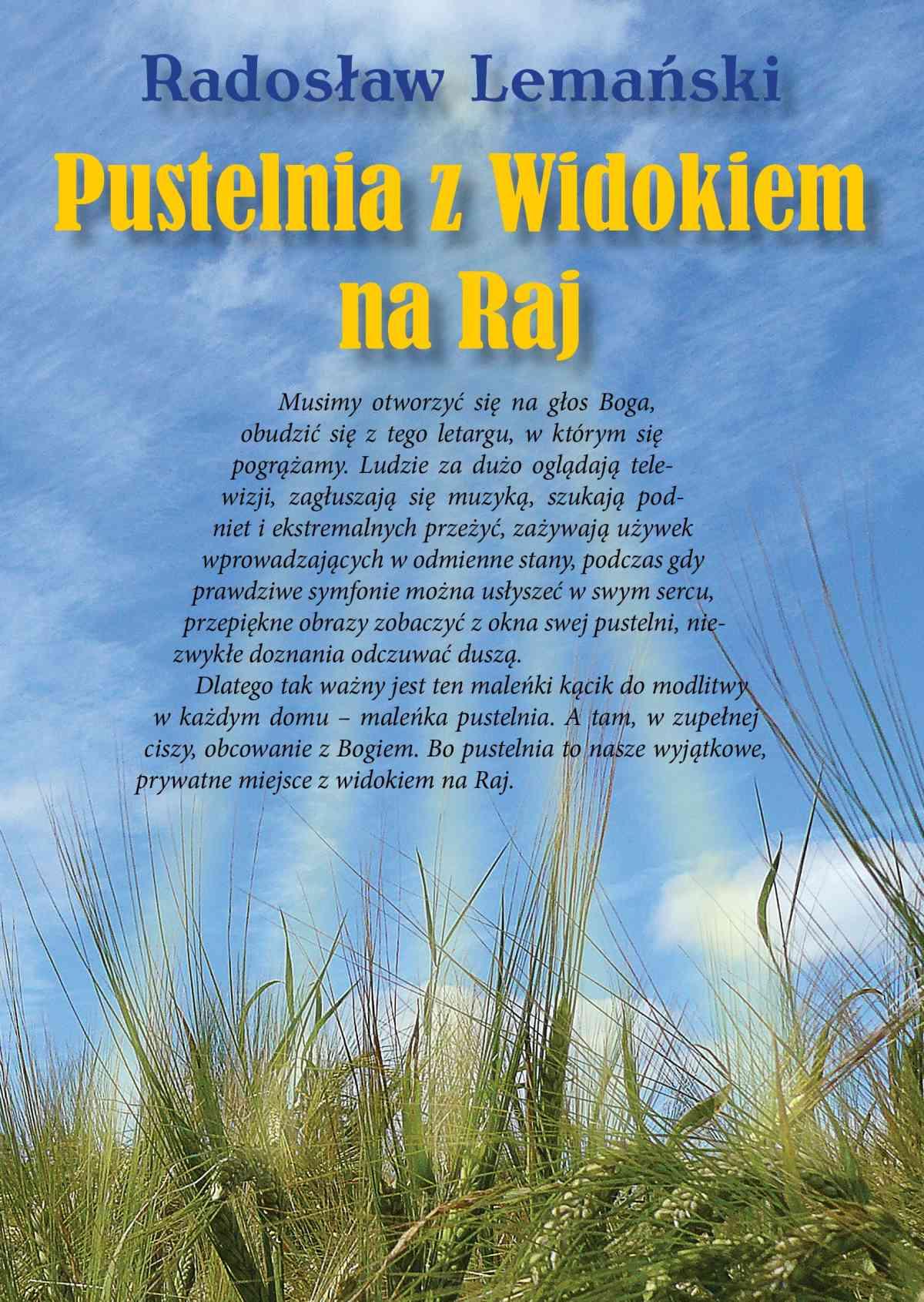 Pustelnia z Widokiem Na Raj - Ebook (Książka PDF) do pobrania w formacie PDF