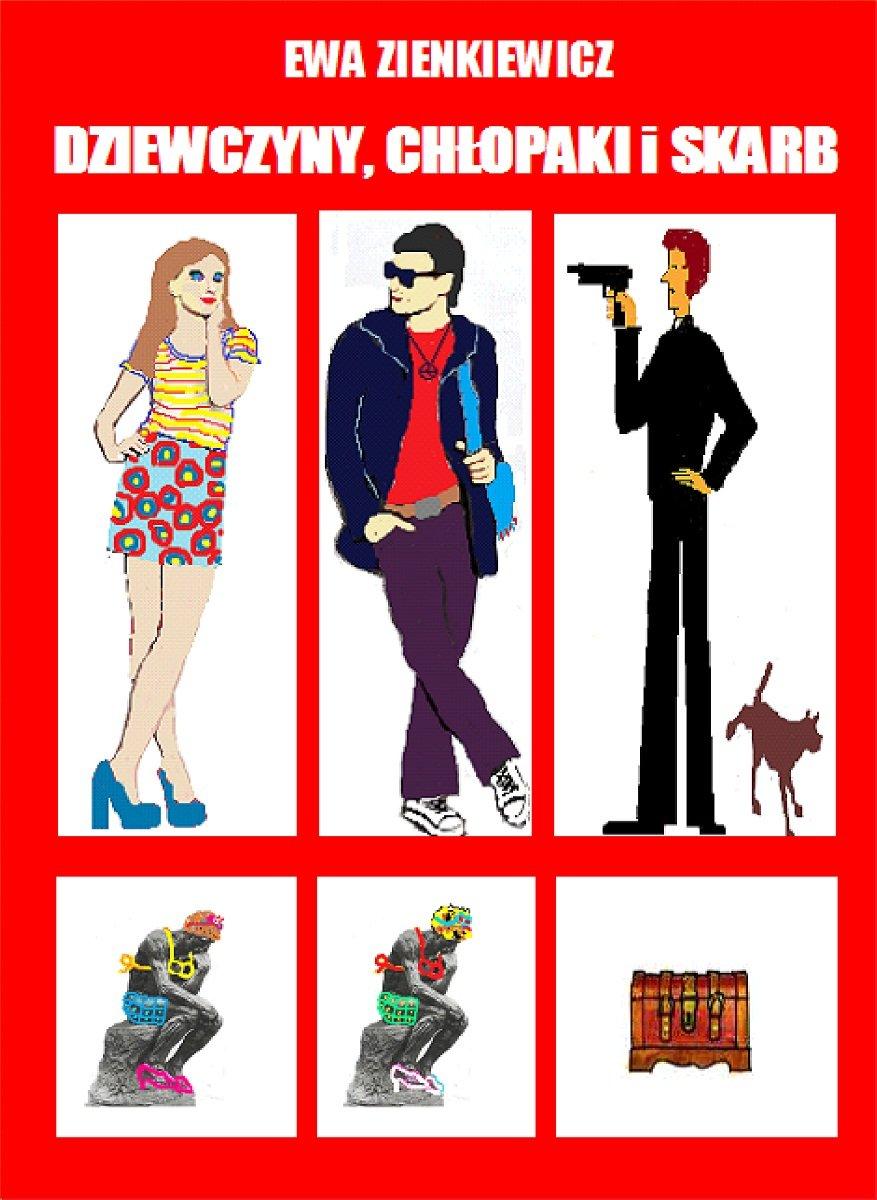 Dziewczyny, chłopaki i skarb - Ebook (Książka EPUB) do pobrania w formacie EPUB