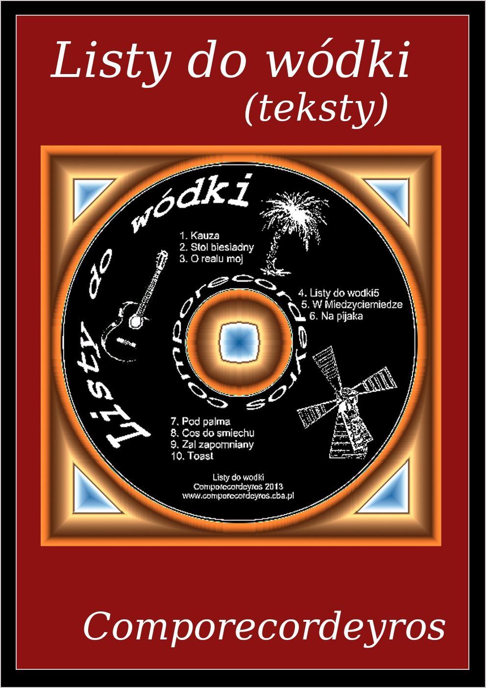 Listy do wódki (teksty) - Ebook (Książka PDF) do pobrania w formacie PDF