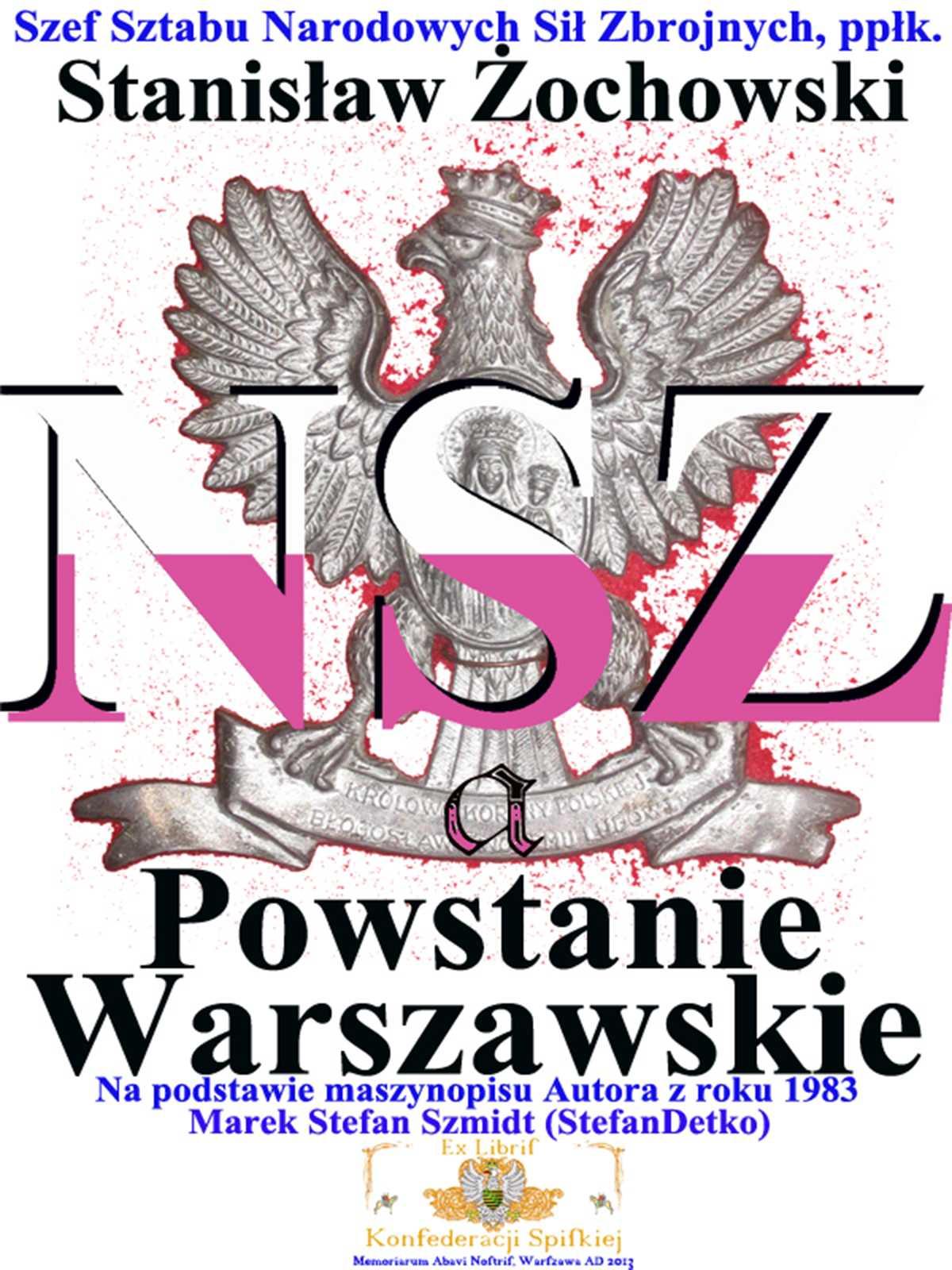 Narodowe Siły Zbrojne a Powstanie Warszawskie - Ebook (Książka PDF) do pobrania w formacie PDF