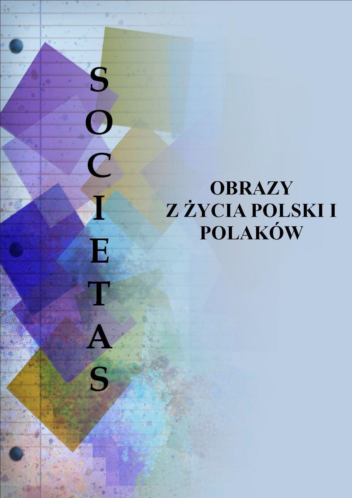 Societas. Obrazy z życia Polski i Polaków - Ebook (Książka PDF) do pobrania w formacie PDF