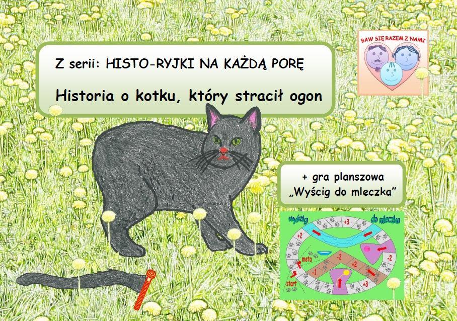 Historia o kotku, który stracił ogon - Ebook (Książka PDF) do pobrania w formacie PDF