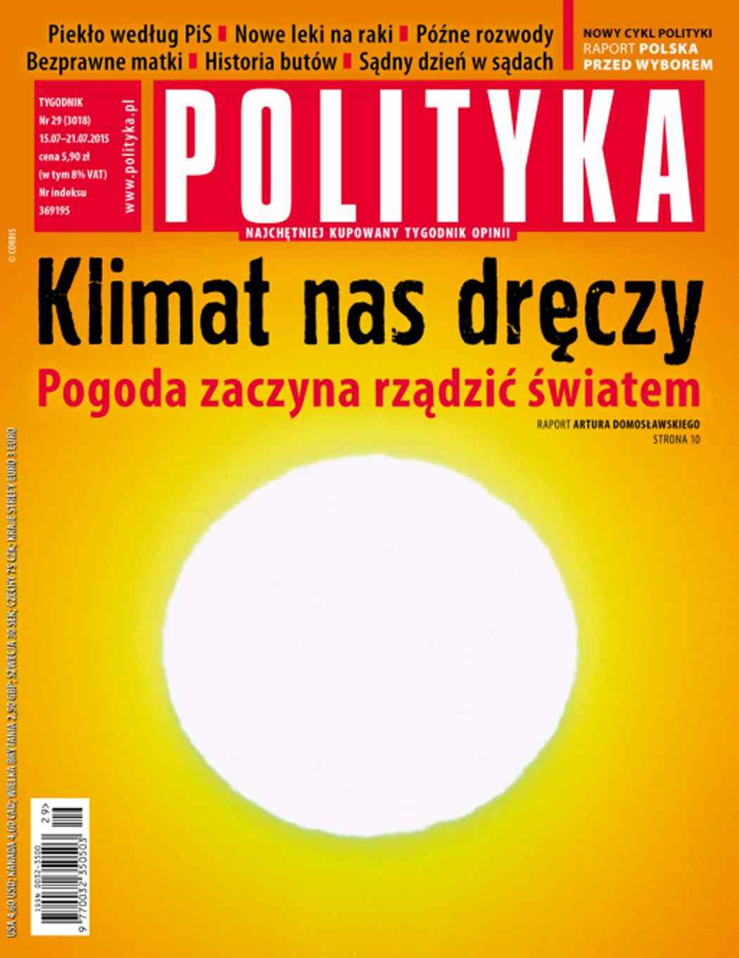 Polityka nr 29/2015 - Ebook (Książka PDF) do pobrania w formacie PDF