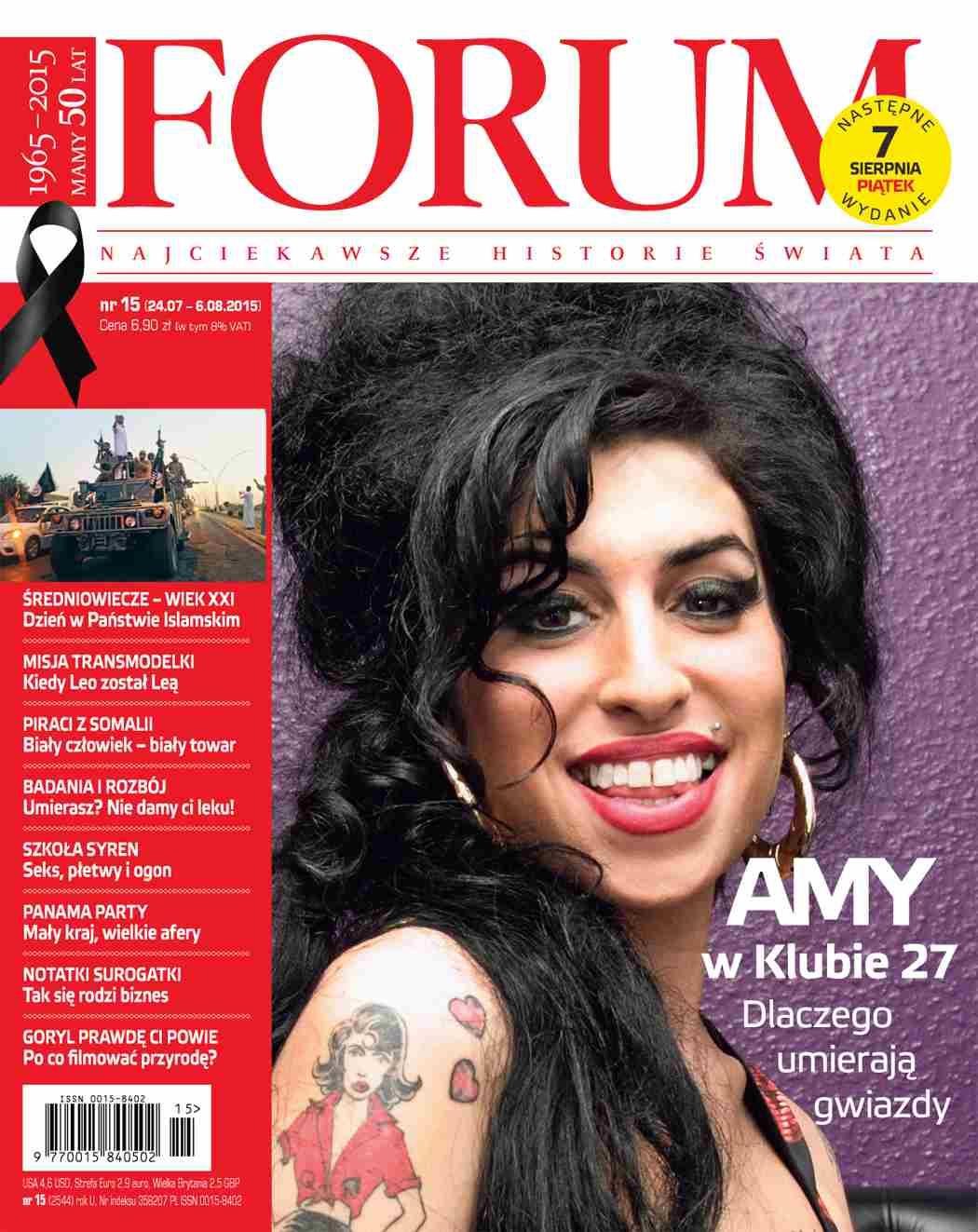 Forum nr 15/2015 - Ebook (Książka PDF) do pobrania w formacie PDF