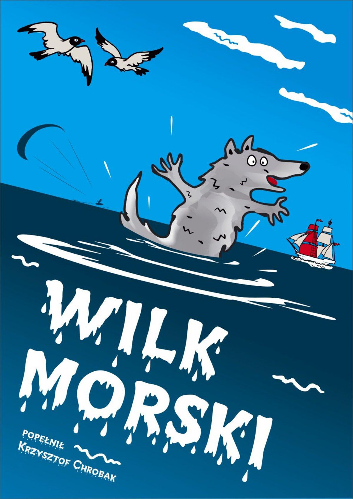 Wilk morski - Ebook (Książka na Kindle) do pobrania w formacie MOBI