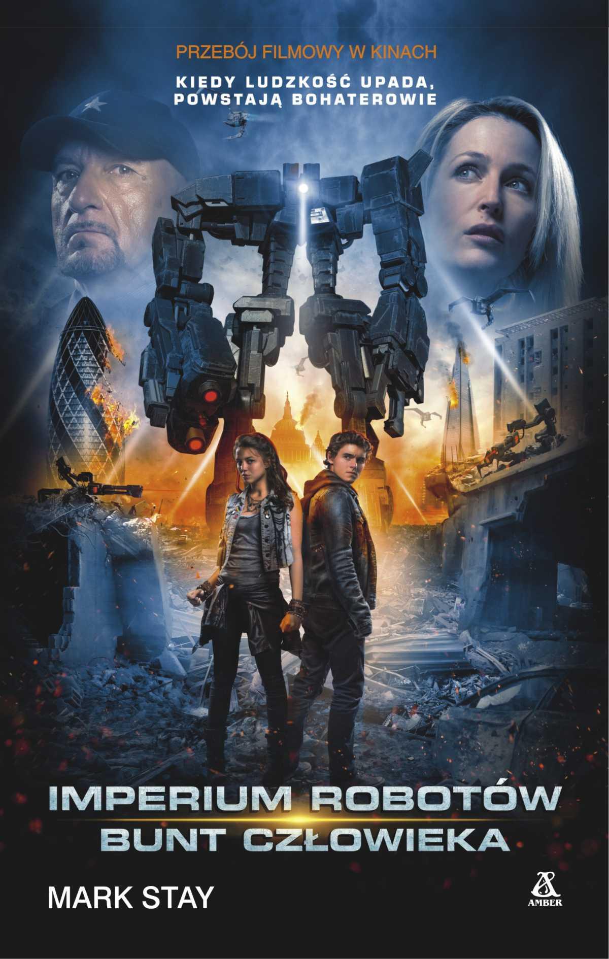 Imperium robotów: Bunt człowieka - Ebook (Książka EPUB) do pobrania w formacie EPUB