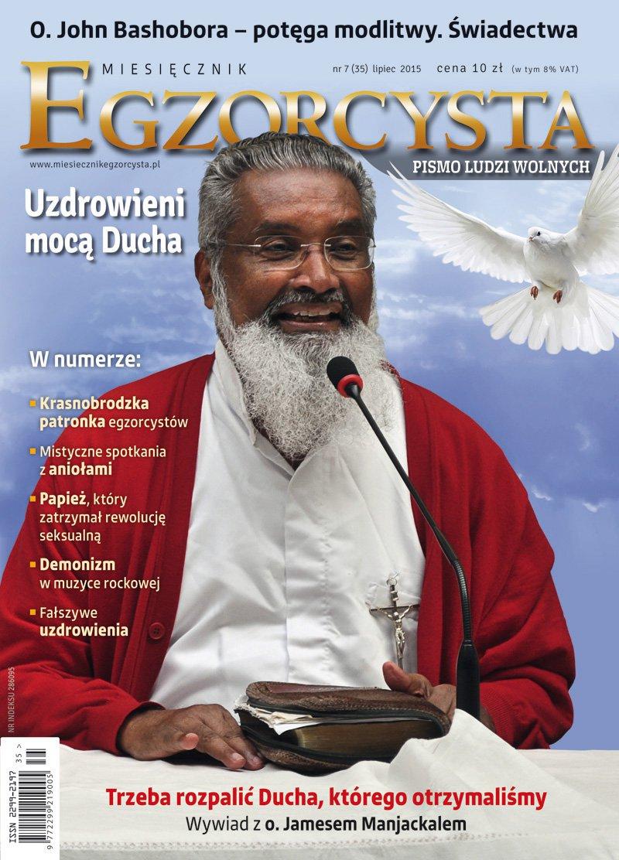 Miesięcznik Egzorcysta. Lipiec 2015 - Ebook (Książka PDF) do pobrania w formacie PDF