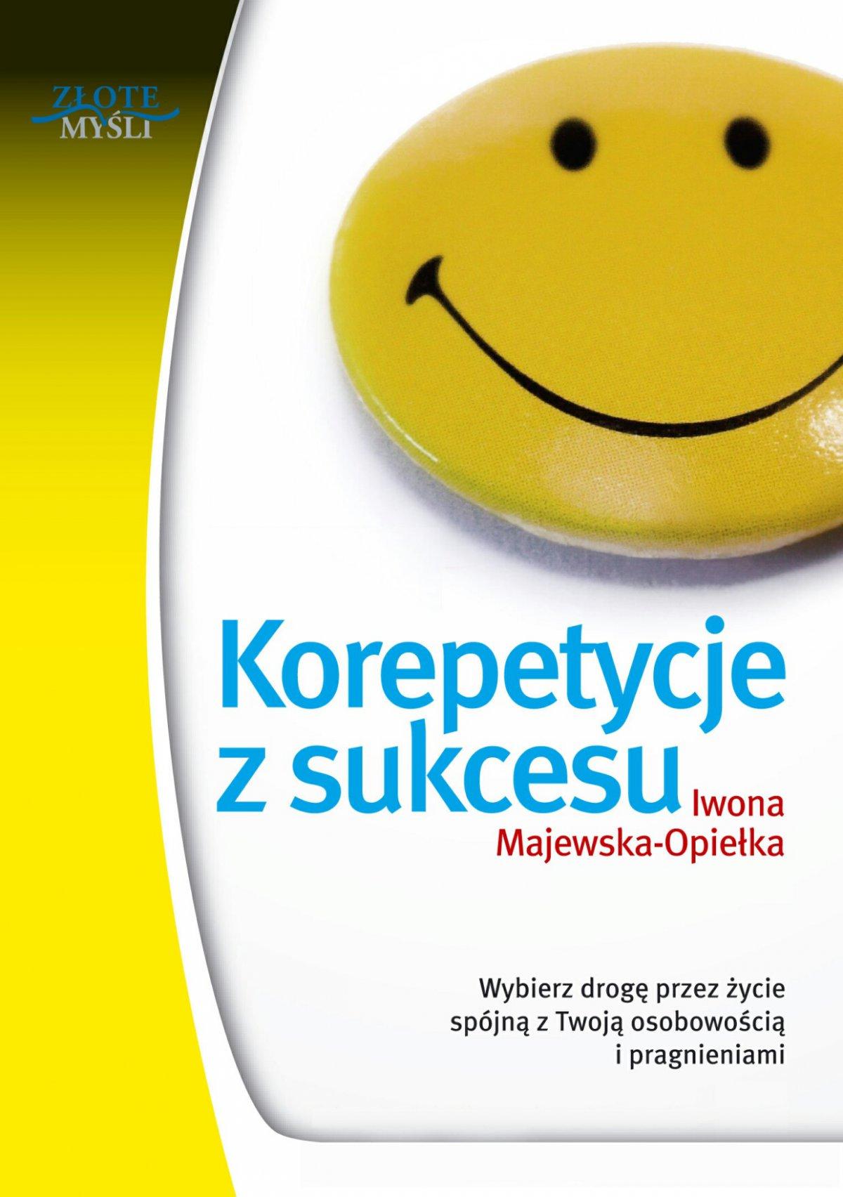 Korepetycje z sukcesu - Ebook (Książka PDF) do pobrania w formacie PDF