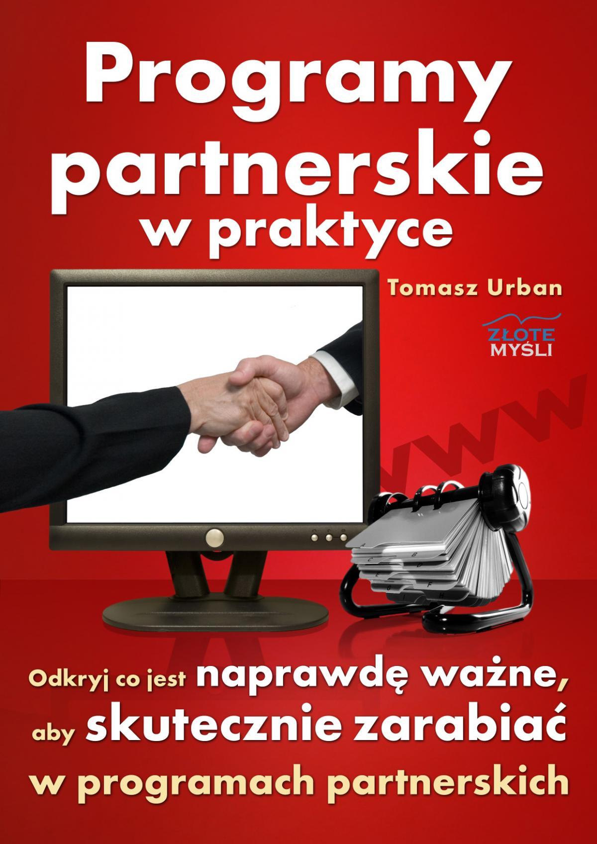 Programy partnerskie w praktyce - Ebook (Książka PDF) do pobrania w formacie PDF
