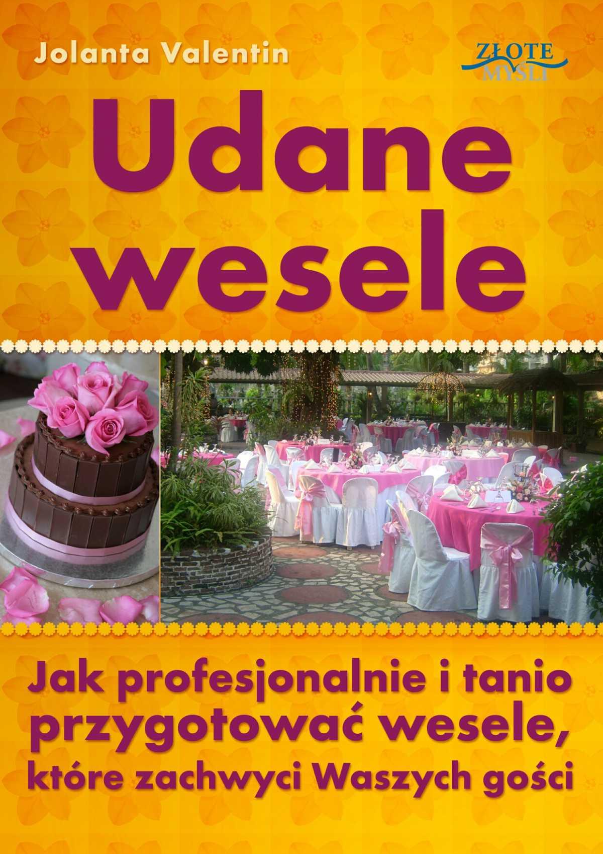Udane wesele - Ebook (Książka PDF) do pobrania w formacie PDF