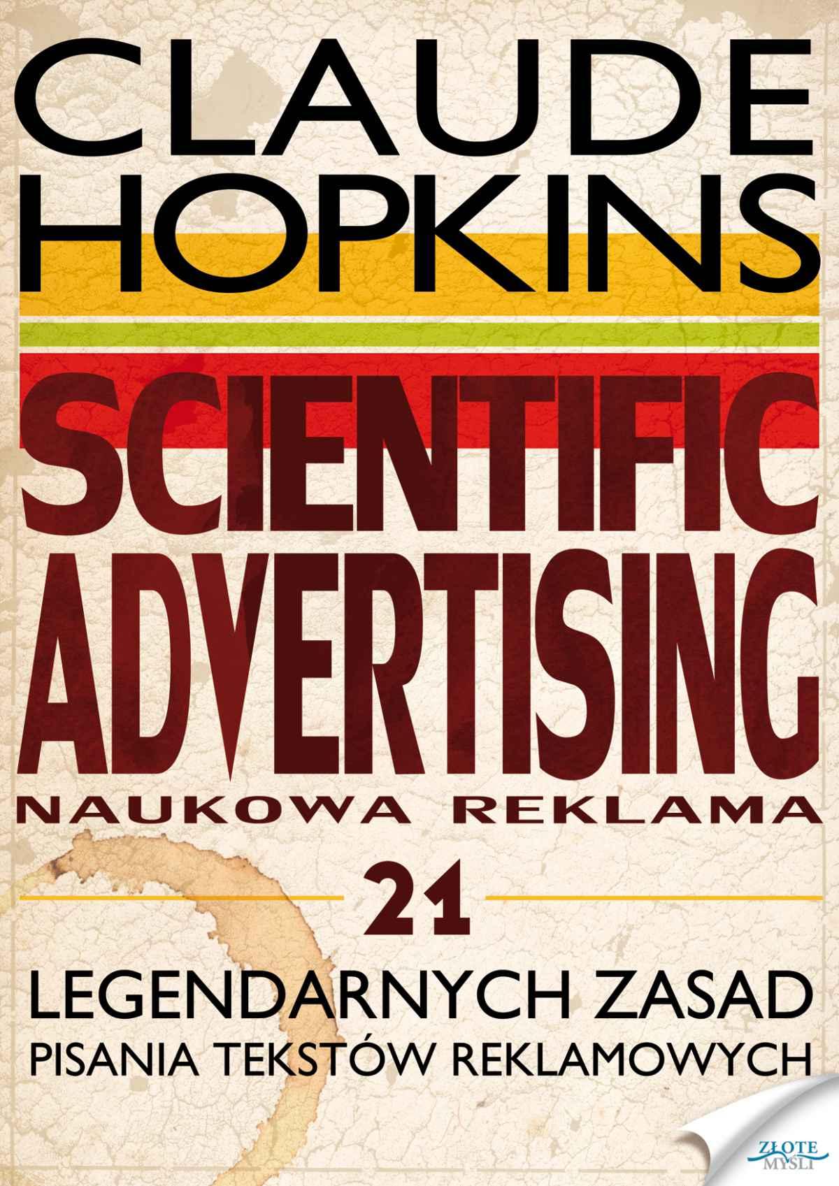 Scientific Advertising - Ebook (Książka na Kindle) do pobrania w formacie MOBI