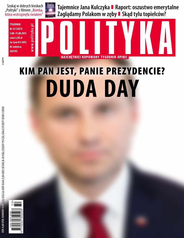 Polityka nr 32/2015 - Ebook (Książka PDF) do pobrania w formacie PDF