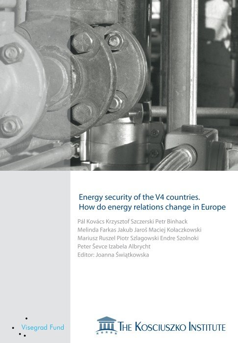 Energy security of the V4 countries.  How do energy relations change in Europe - Ebook (Książka PDF) do pobrania w formacie PDF
