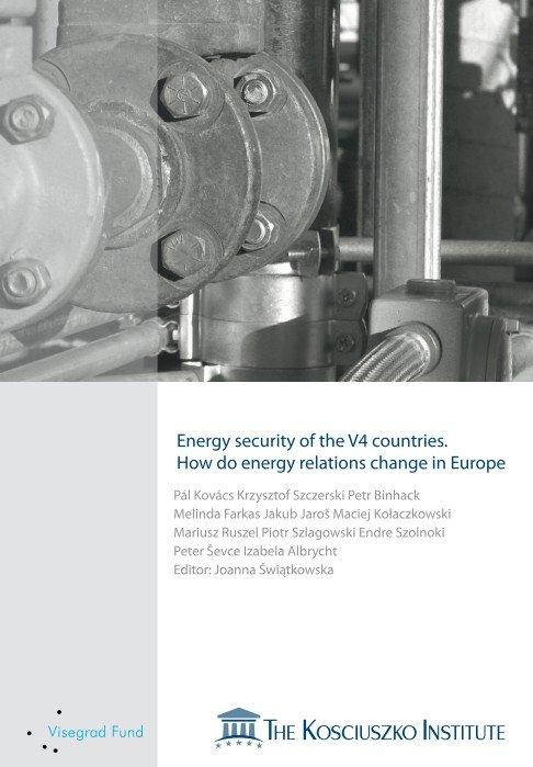 Energy security oftheV4countries.  How do energy relations changein Europe - Ebook (Książka PDF) do pobrania w formacie PDF
