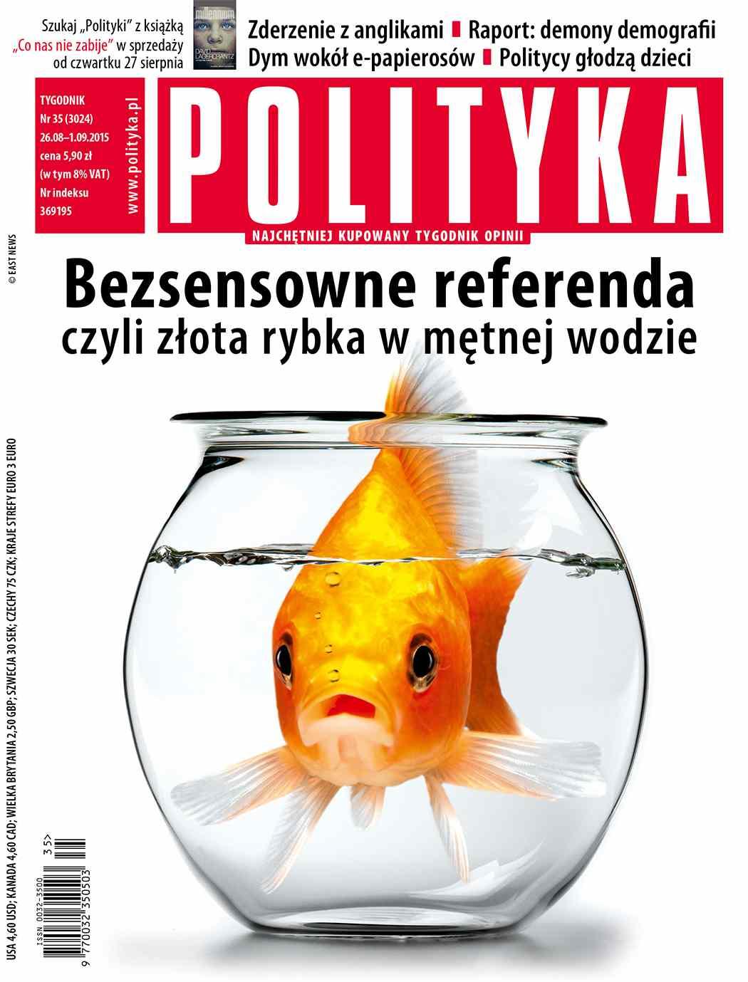 Polityka nr 35/2015 - Ebook (Książka PDF) do pobrania w formacie PDF