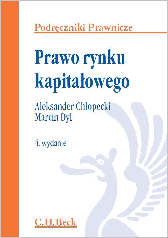 Prawo rynku kapitałowego. Wydanie 4 - Ebook (Książka PDF) do pobrania w formacie PDF