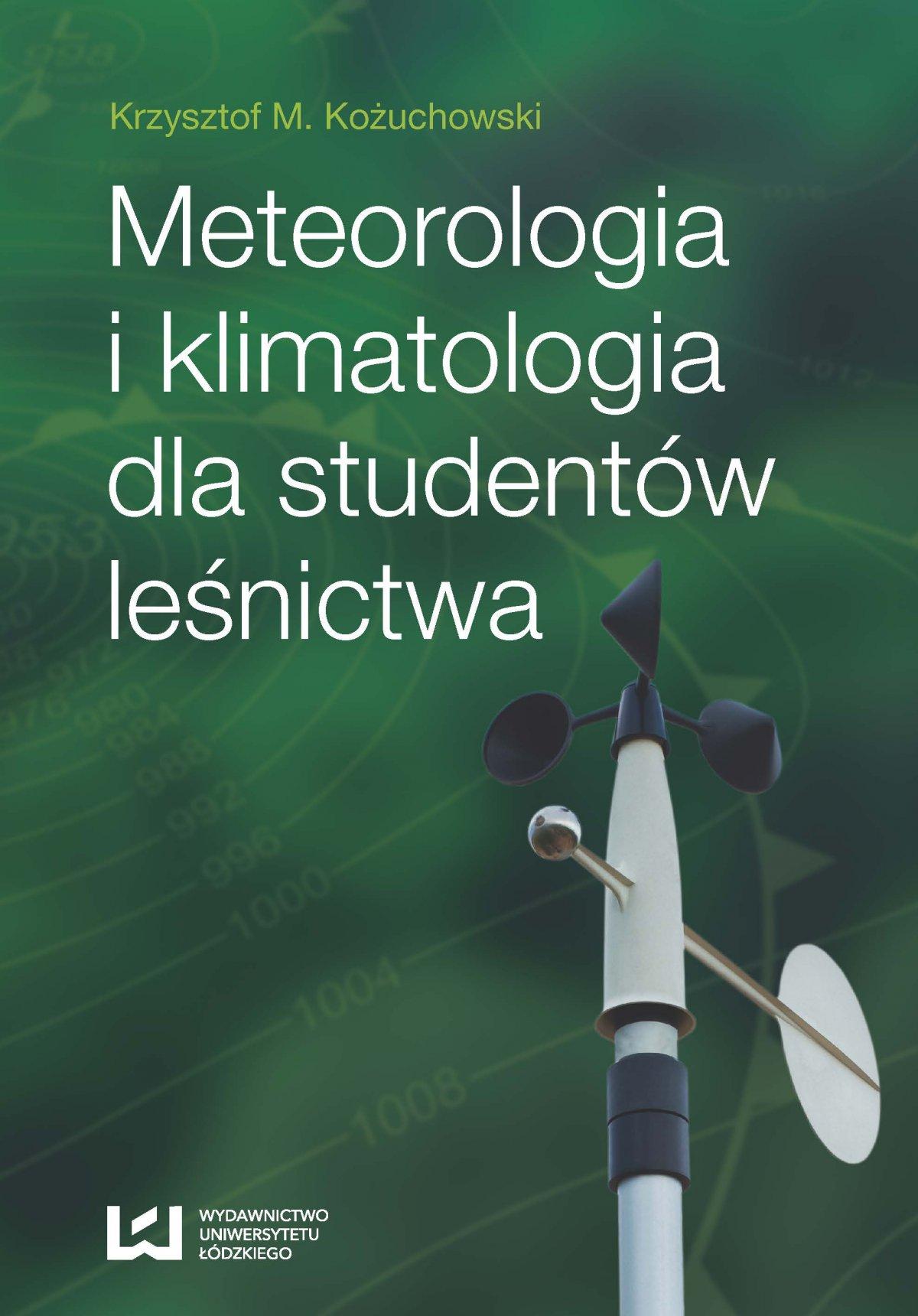 Meteorologia i klimatologia dla studentów leśnictwa - Ebook (Książka PDF) do pobrania w formacie PDF