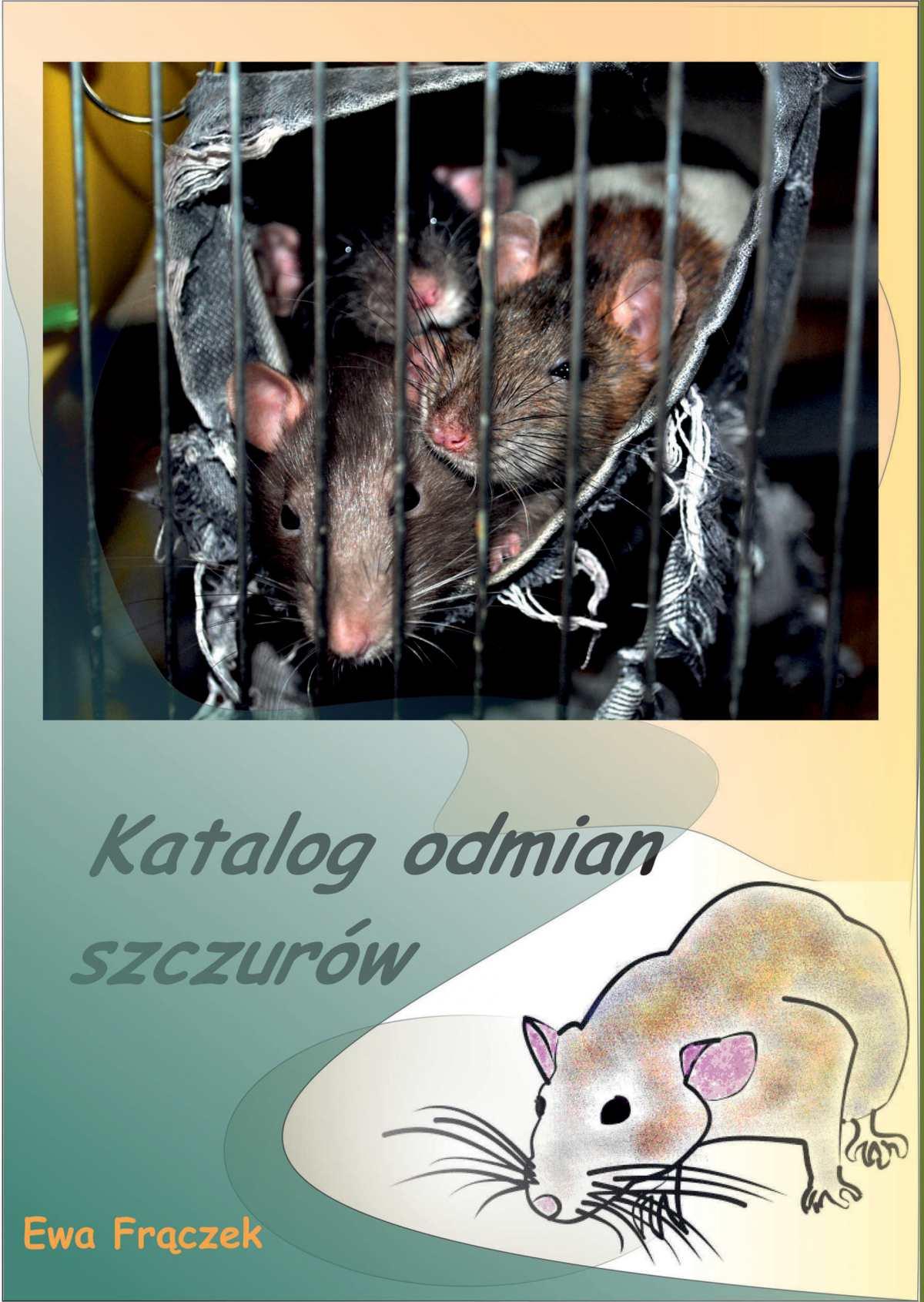 Katalog odmian szczurów - Ebook (Książka na Kindle) do pobrania w formacie MOBI