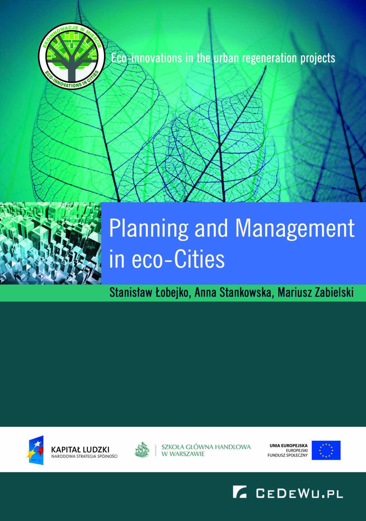 Planning and Management in Eco-cities - Ebook (Książka PDF) do pobrania w formacie PDF