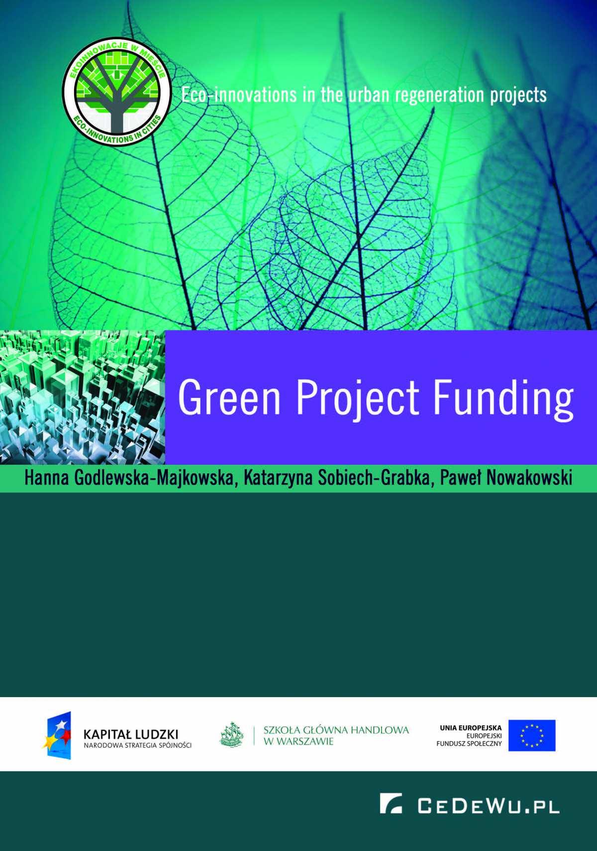 Green Project Funding - Ebook (Książka PDF) do pobrania w formacie PDF