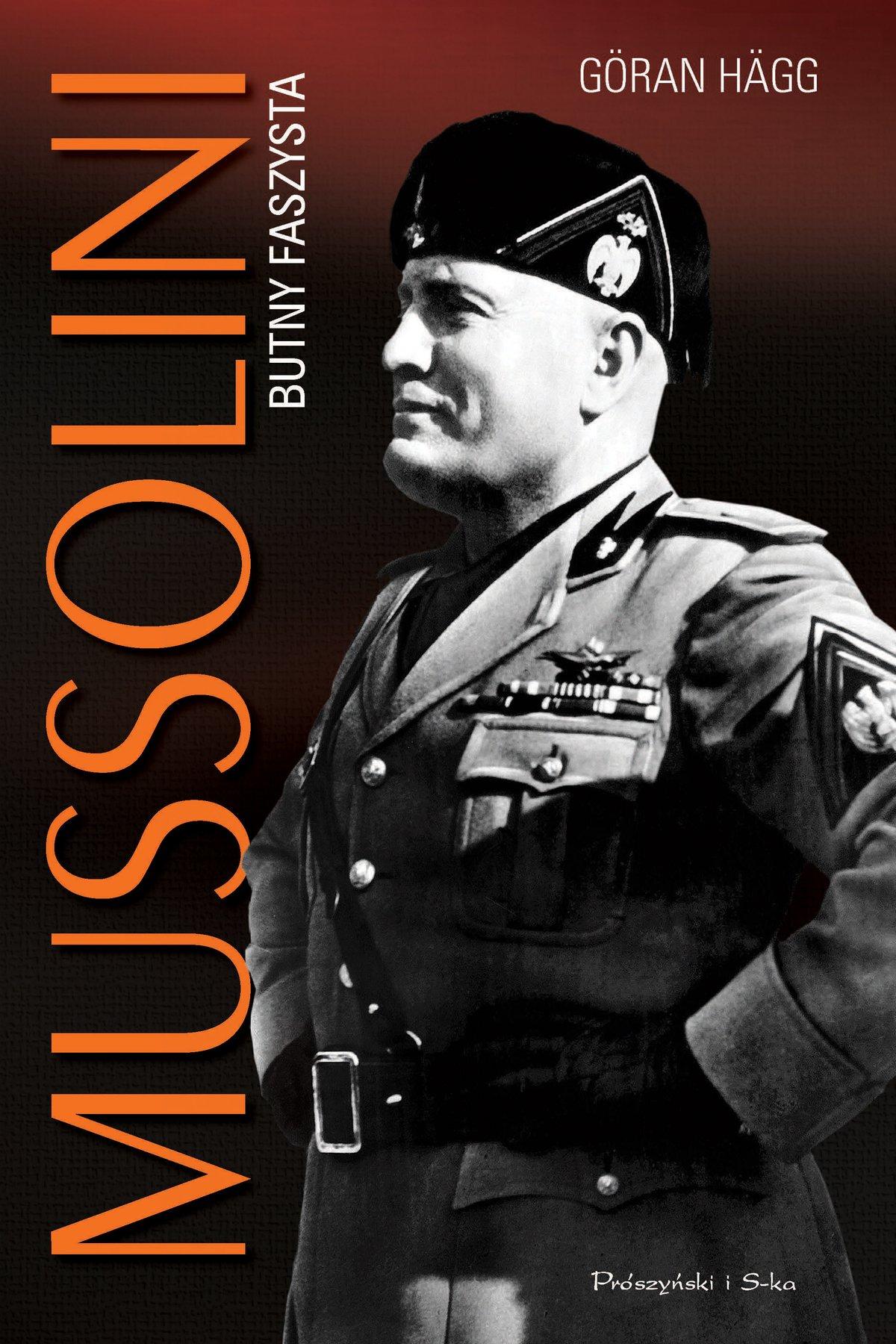 Mussolini. Butny faszysta - Ebook (Książka na Kindle) do pobrania w formacie MOBI