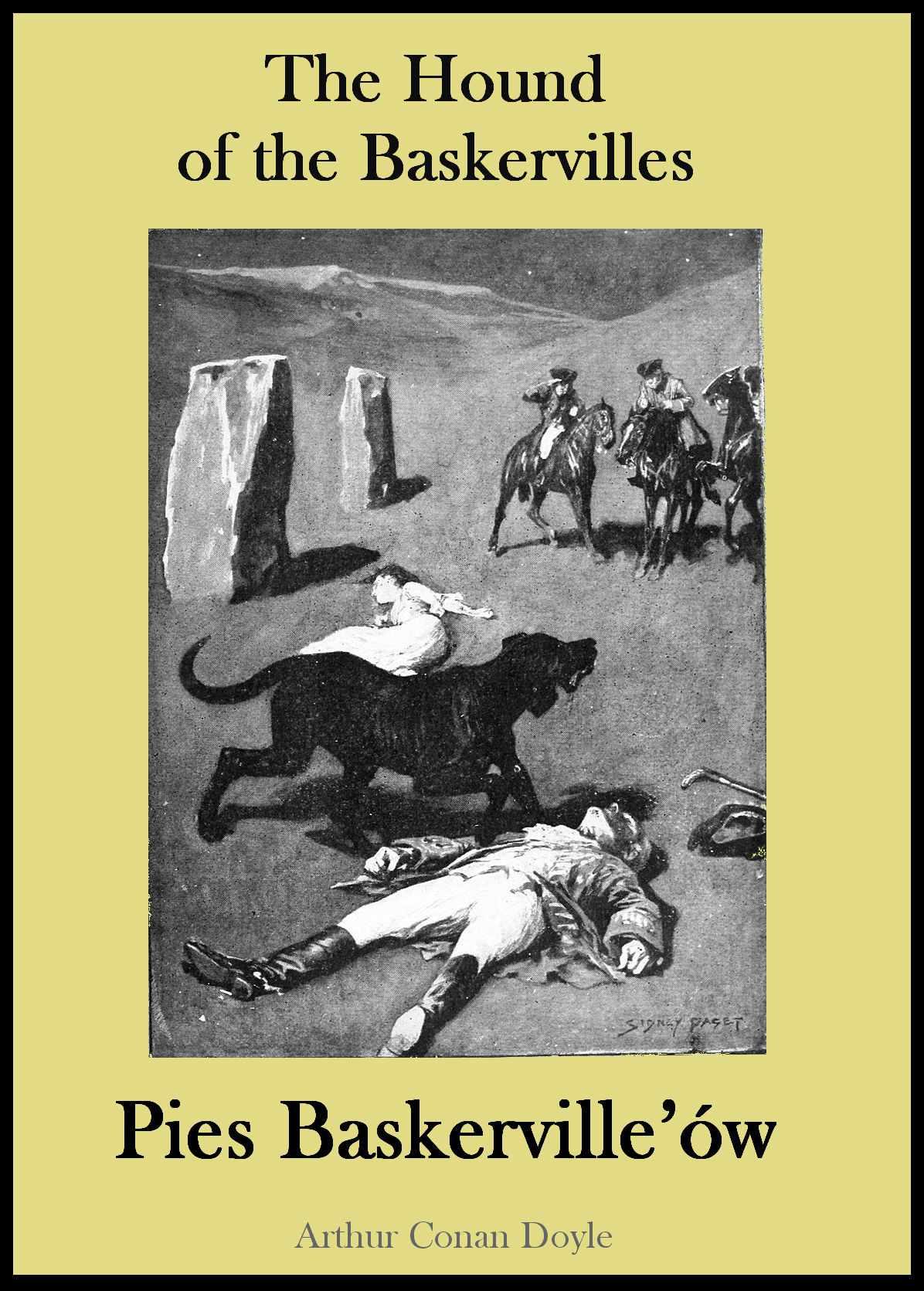 Wydanie dwujęzyczne - Pies Baskerville'ów - Ebook (Książka PDF) do pobrania w formacie PDF