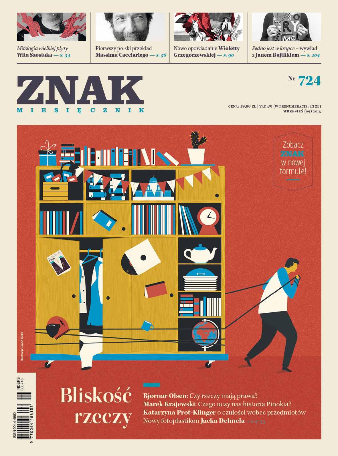 Bliskość rzeczy. Miesięcznik Znak - Ebook (Książka na Kindle) do pobrania w formacie MOBI