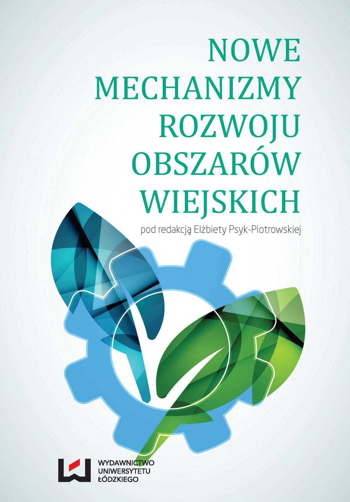 Nowe mechanizmy rozwoju obszarów wiejskich - Ebook (Książka PDF) do pobrania w formacie PDF
