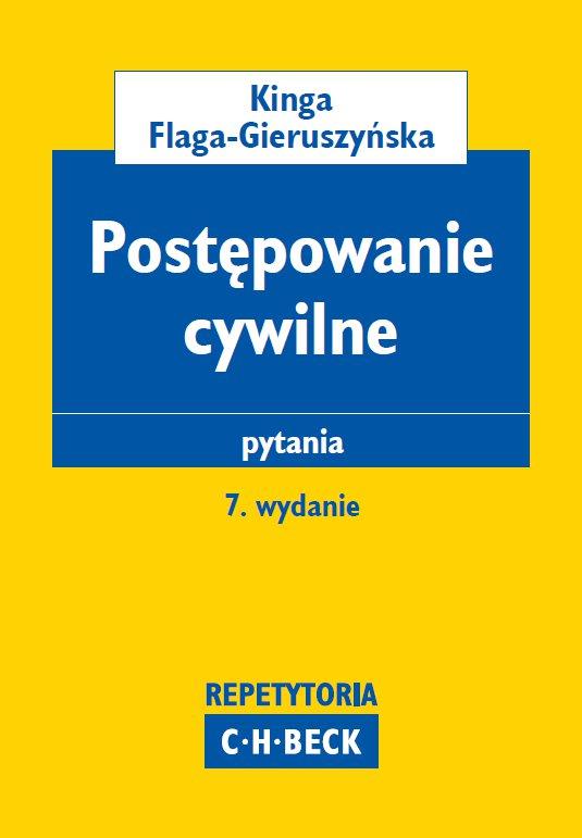Postępowanie cywilne. Pytania - Ebook (Książka PDF) do pobrania w formacie PDF
