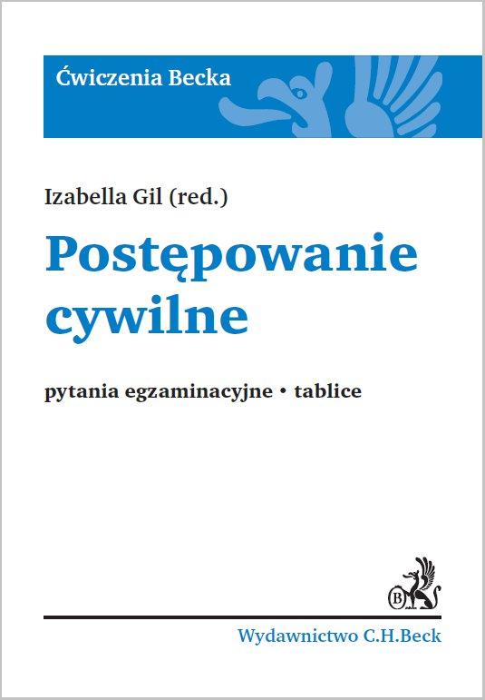 Postępowanie cywilne. Pytania egzaminacyjne. Tablice - Ebook (Książka PDF) do pobrania w formacie PDF