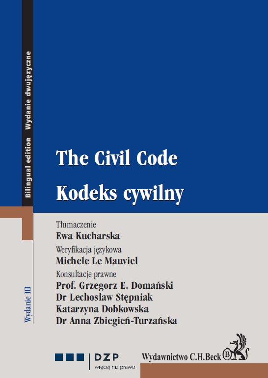 Kodeks cywilny. The Civil Code - Ebook (Książka PDF) do pobrania w formacie PDF