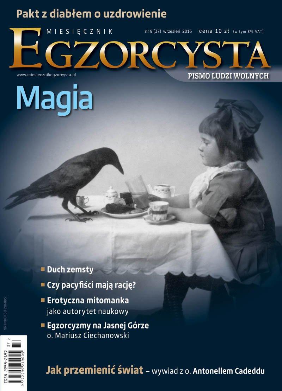 Miesięcznik Egzorcysta. Wrzesień 2015 - Ebook (Książka PDF) do pobrania w formacie PDF