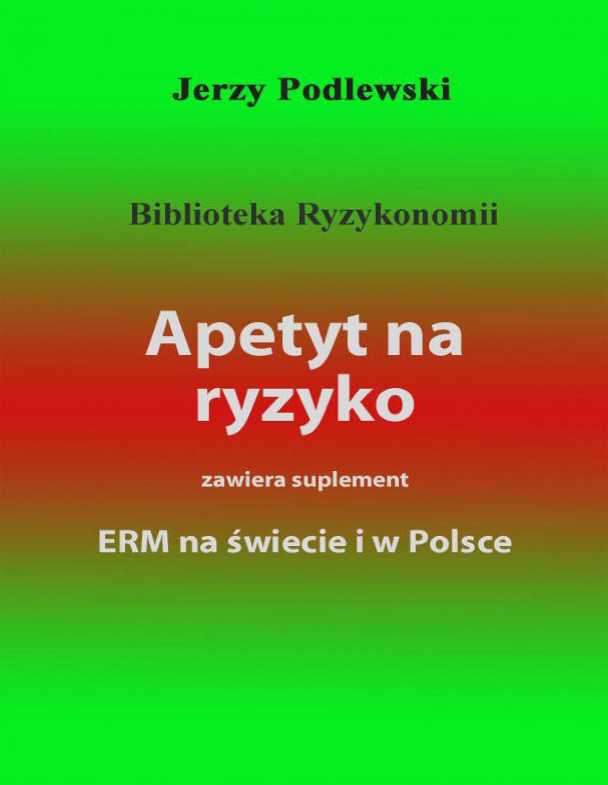 Apetyt na ryzyko - Ebook (Książka PDF) do pobrania w formacie PDF