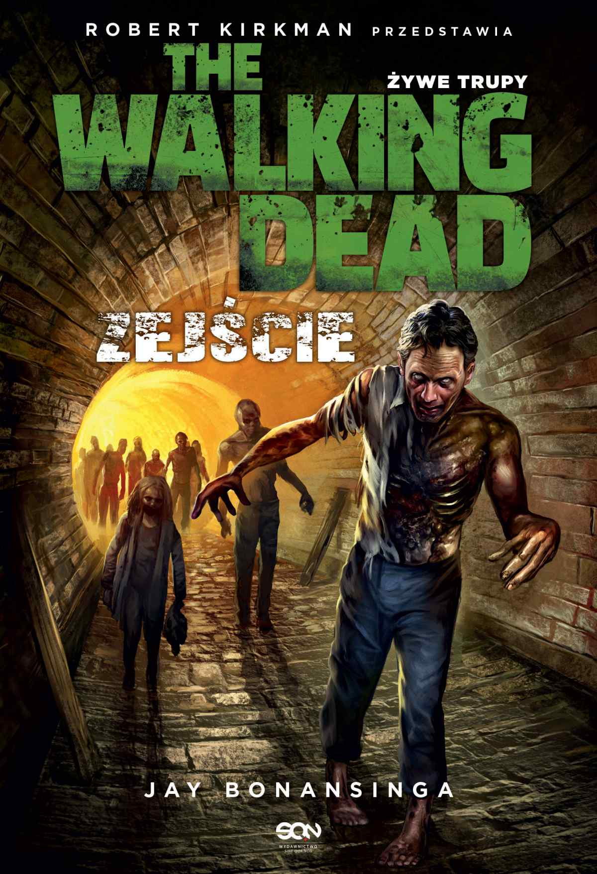 The Walking Dead. Żywe Trupy. Zejście - Ebook (Książka EPUB) do pobrania w formacie EPUB
