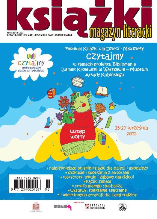 Magazyn Literacki KSIĄŻKI 8/2015 - Ebook (Książka PDF) do pobrania w formacie PDF