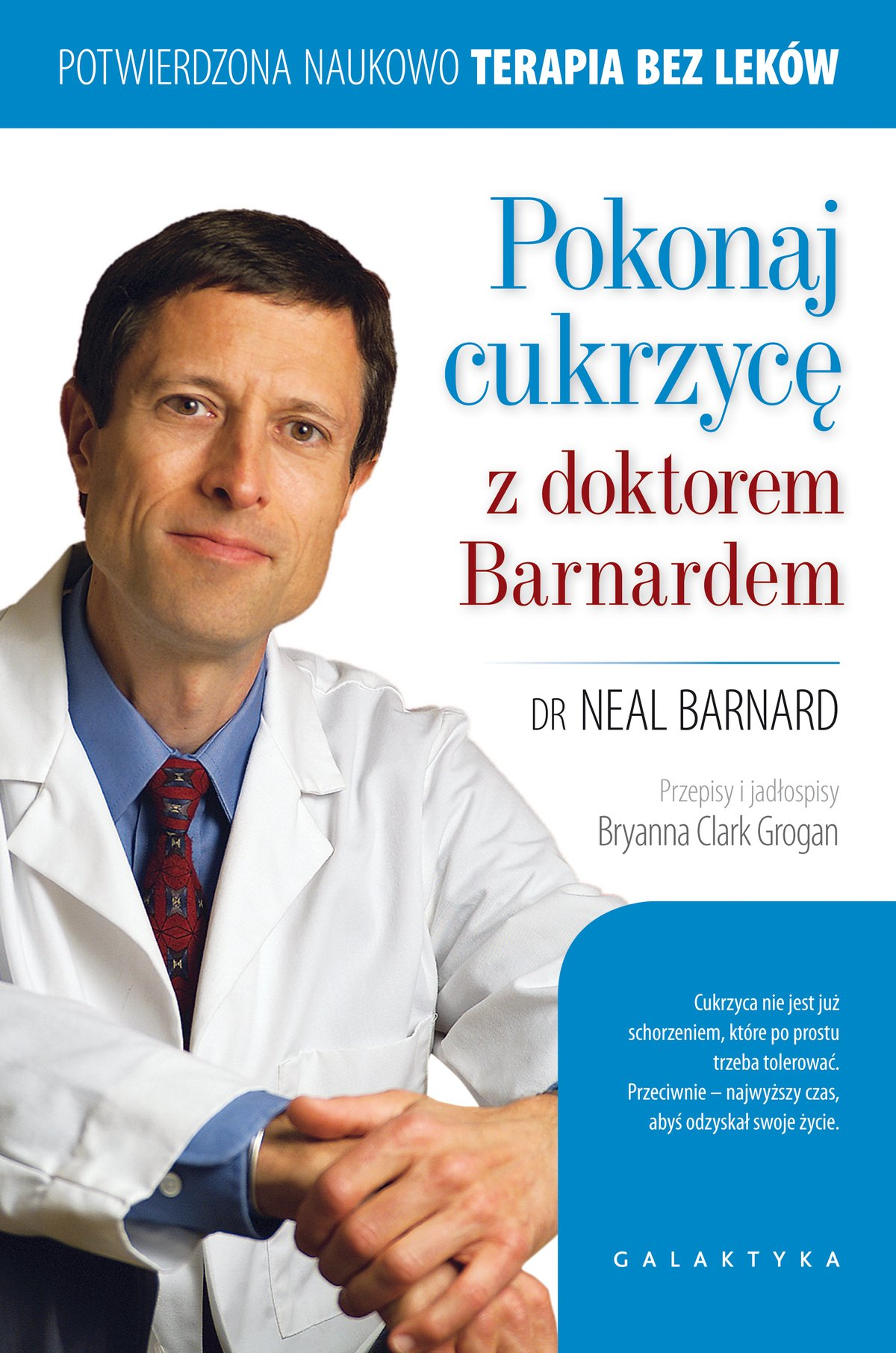Pokonaj cukrzycę z doktorem Barnardem - Ebook (Książka EPUB) do pobrania w formacie EPUB
