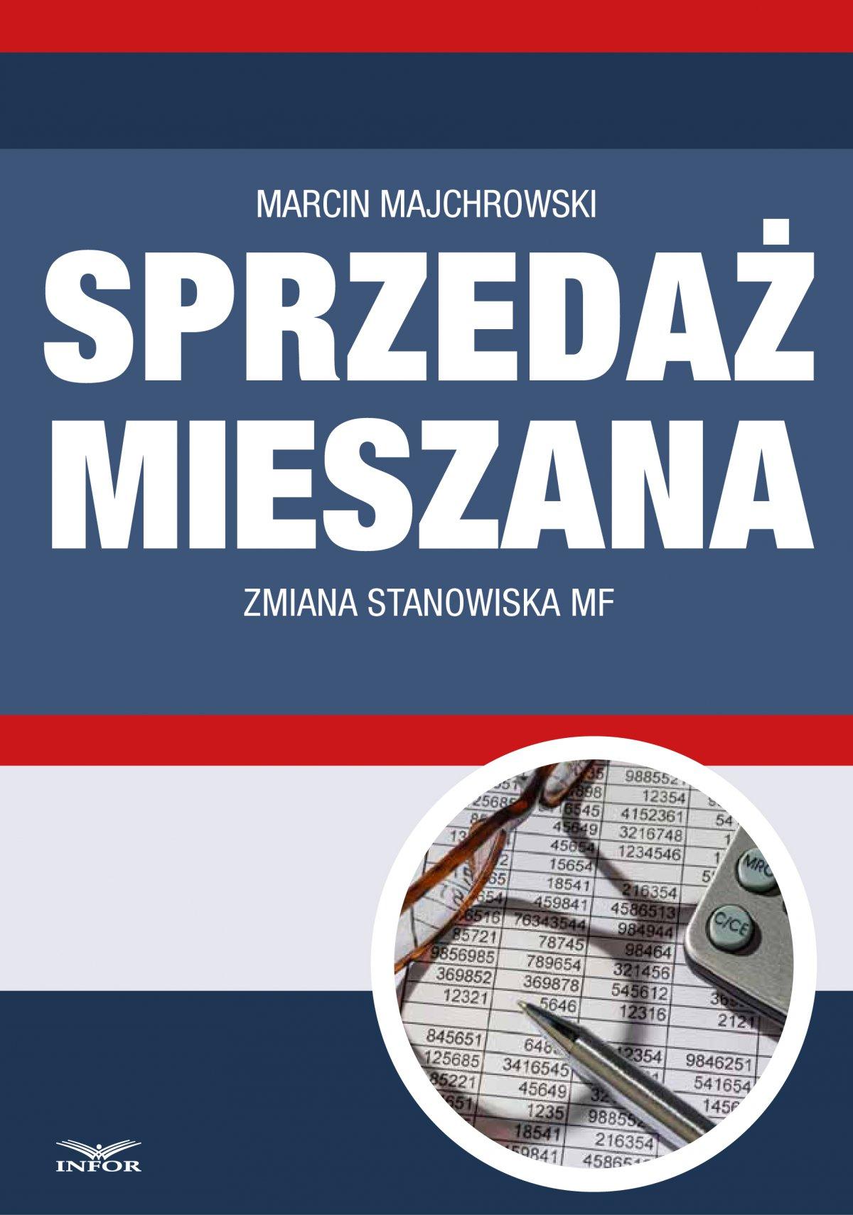 Sprzedaż mieszana - zmiana stanowiska MF - Ebook (Książka PDF) do pobrania w formacie PDF