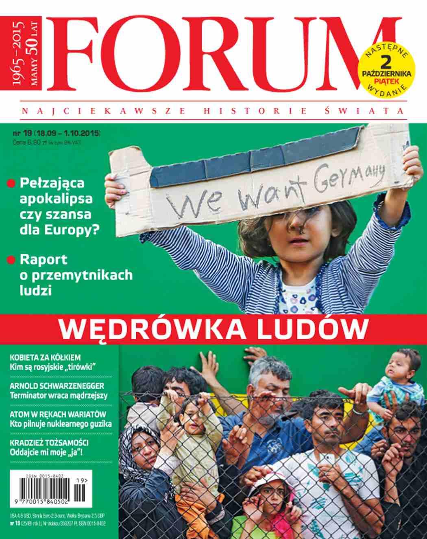 Forum nr 19/2015 - Ebook (Książka PDF) do pobrania w formacie PDF