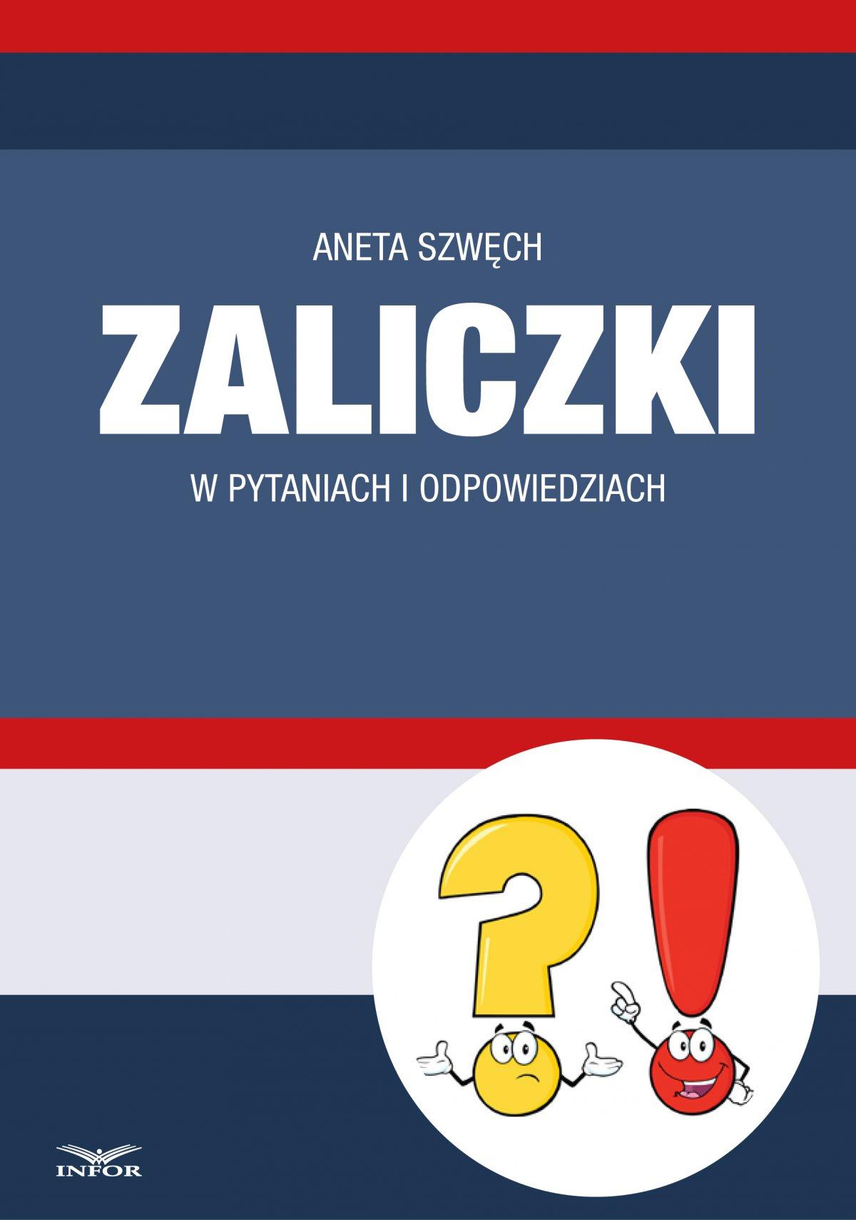 Zaliczki w pytaniach i odpowiedziach - Ebook (Książka PDF) do pobrania w formacie PDF