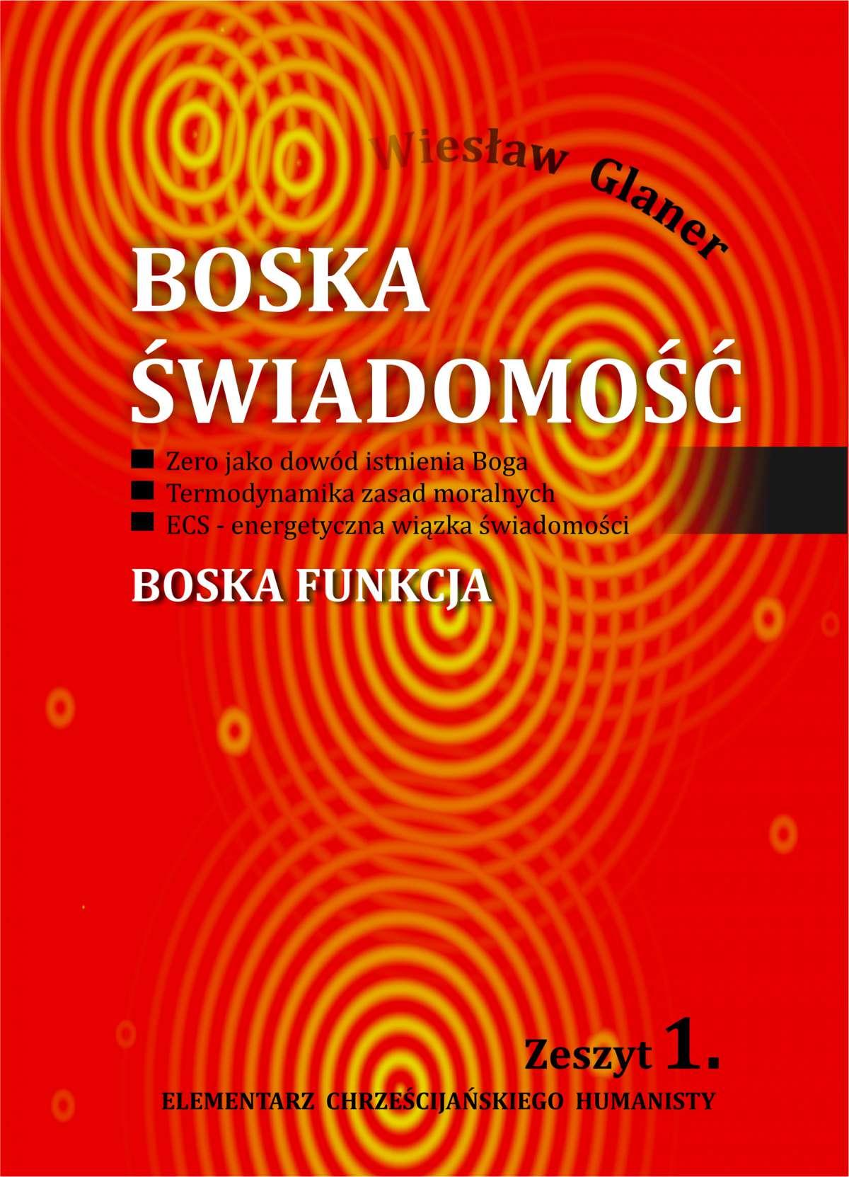 Boska świadomość - Ebook (Książka EPUB) do pobrania w formacie EPUB