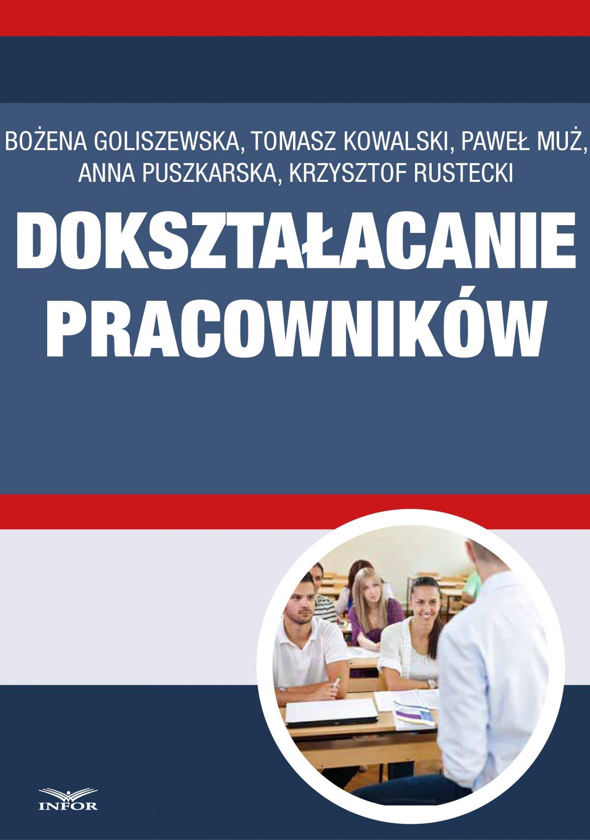 Dokształcanie pracowników - Ebook (Książka PDF) do pobrania w formacie PDF