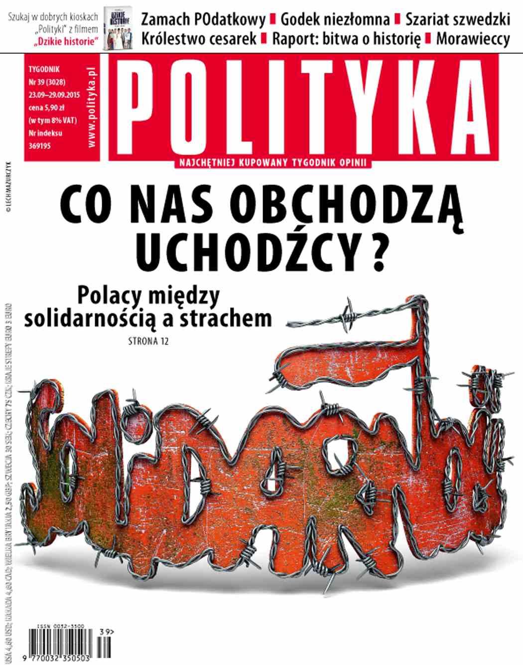 Polityka nr 39/2015 - Ebook (Książka PDF) do pobrania w formacie PDF