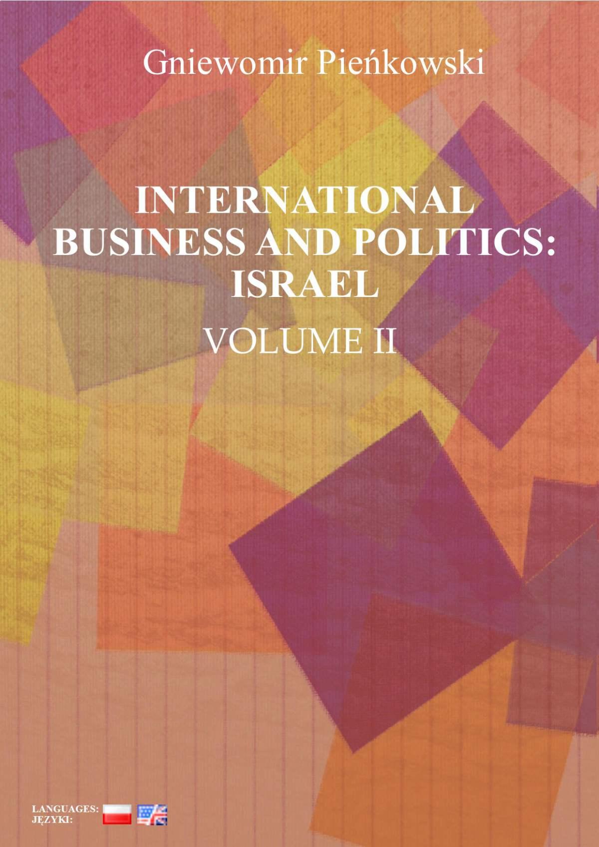 International Business and Politics. Volume II: Israel - Ebook (Książka PDF) do pobrania w formacie PDF