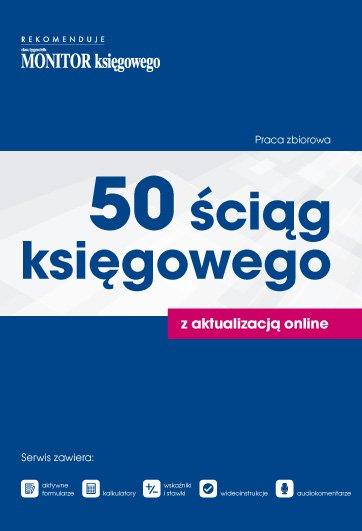 50 Ściąg Księgowego - Ebook (Książka PDF) do pobrania w formacie PDF